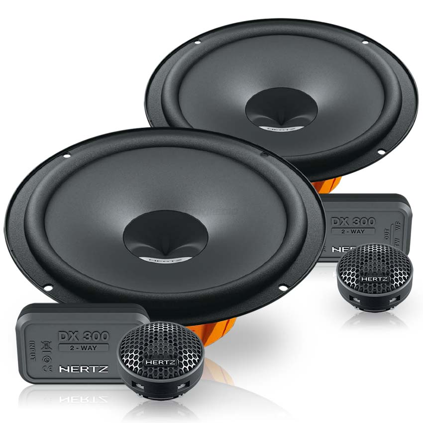 Hertz DSK 165/ 2/ Way DSK165.3/ Speakers Peugeot Opel Iveco Ford Speaker Stands Alfa Citro/ën Fiat